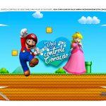 Caixa Controle de Video Game Tampa Mario