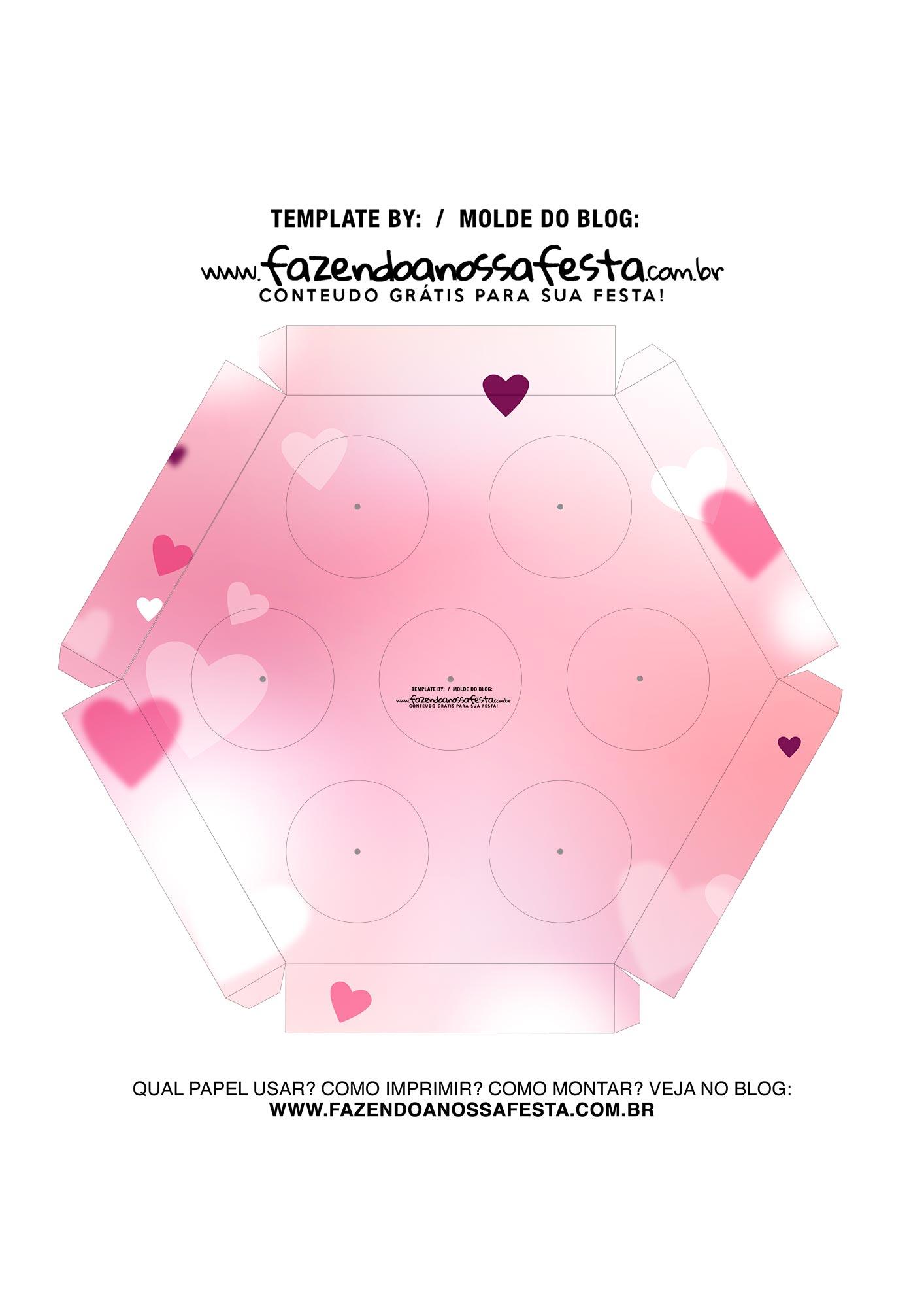 Caixa Explosiva Dia dos Namorados Casal 6