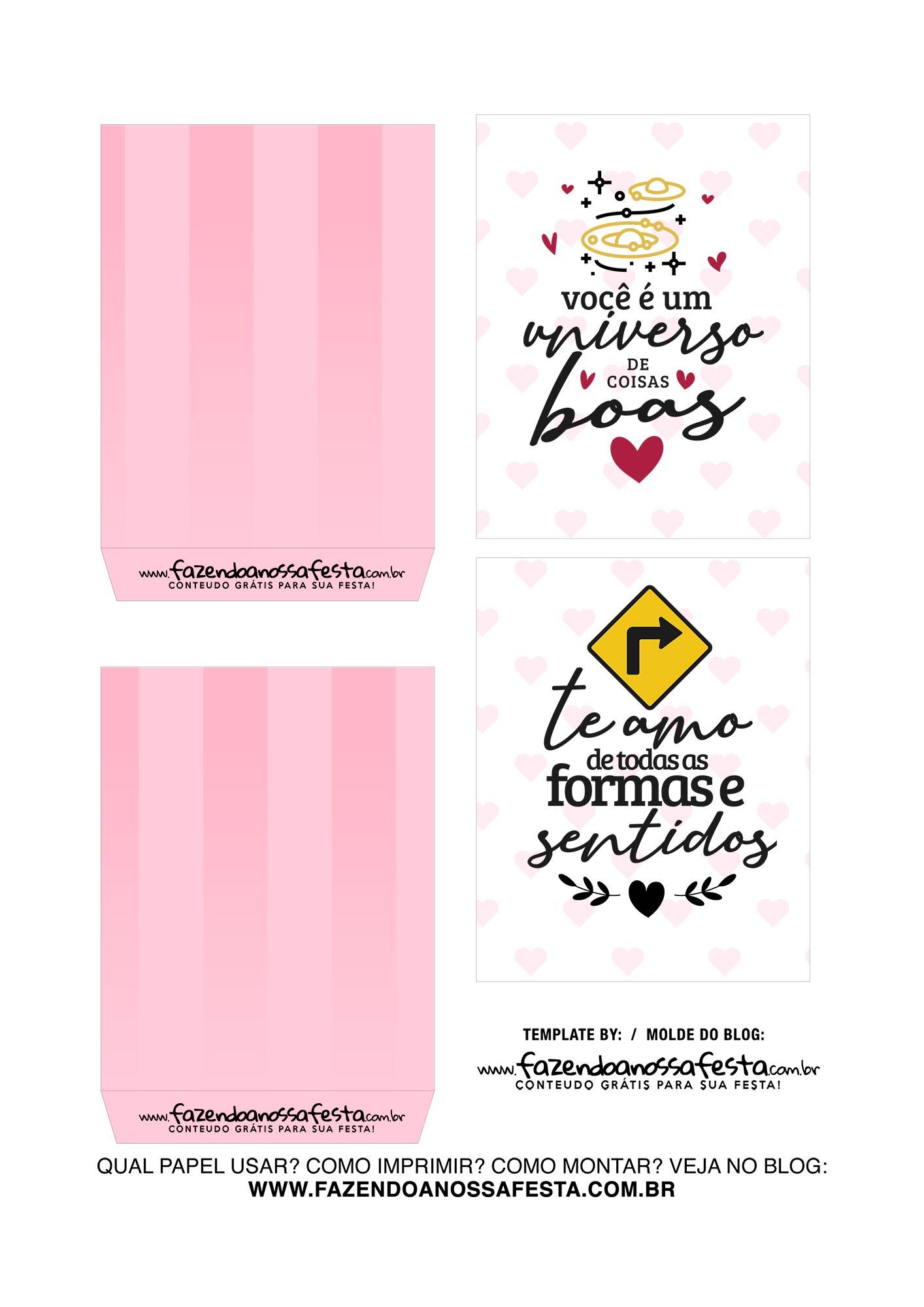 Caixa Explosiva Dia dos Namorados Casal Preto e branco 3