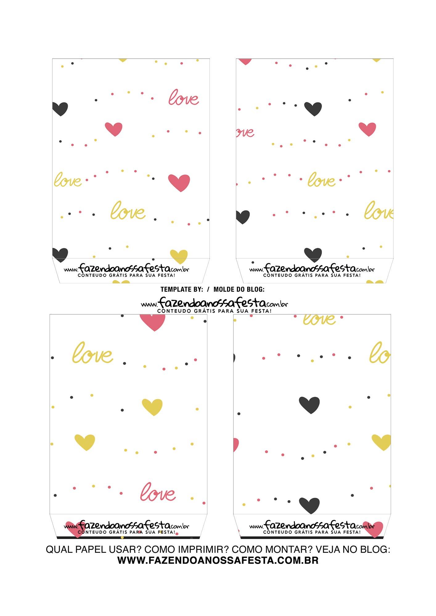 Caixa Explosiva Dia dos Namorados Mickey e Minnie 4