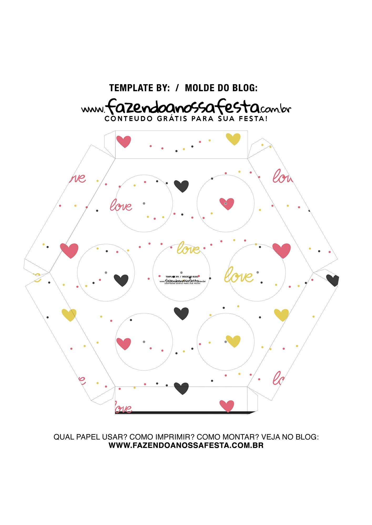 Caixa Explosiva Dia dos Namorados Mickey e Minnie 6