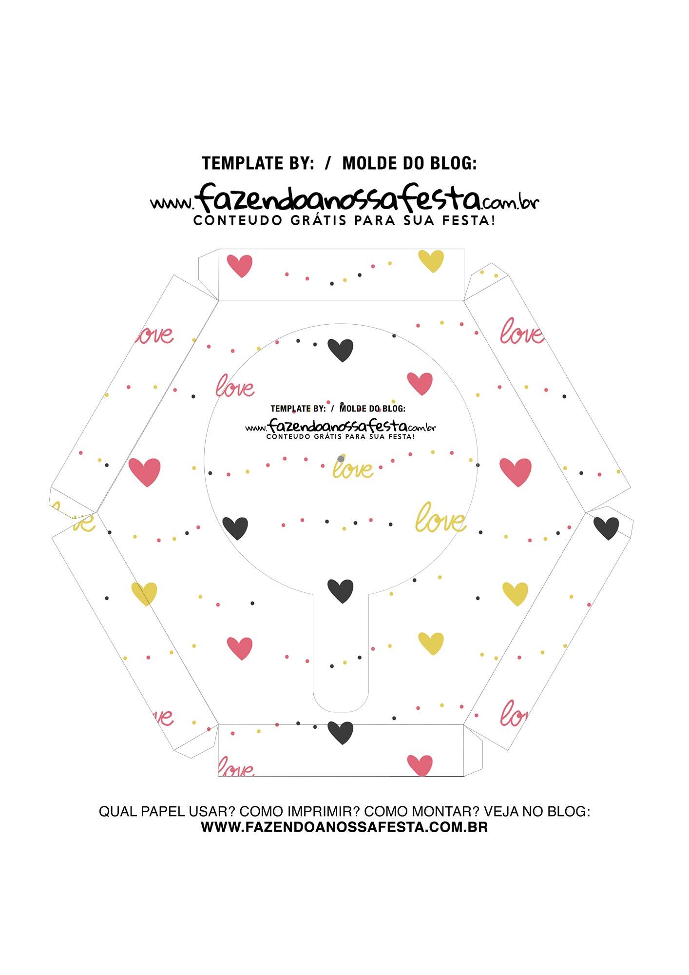Caixa Explosiva Dia dos Namorados Mickey e Minnie 7