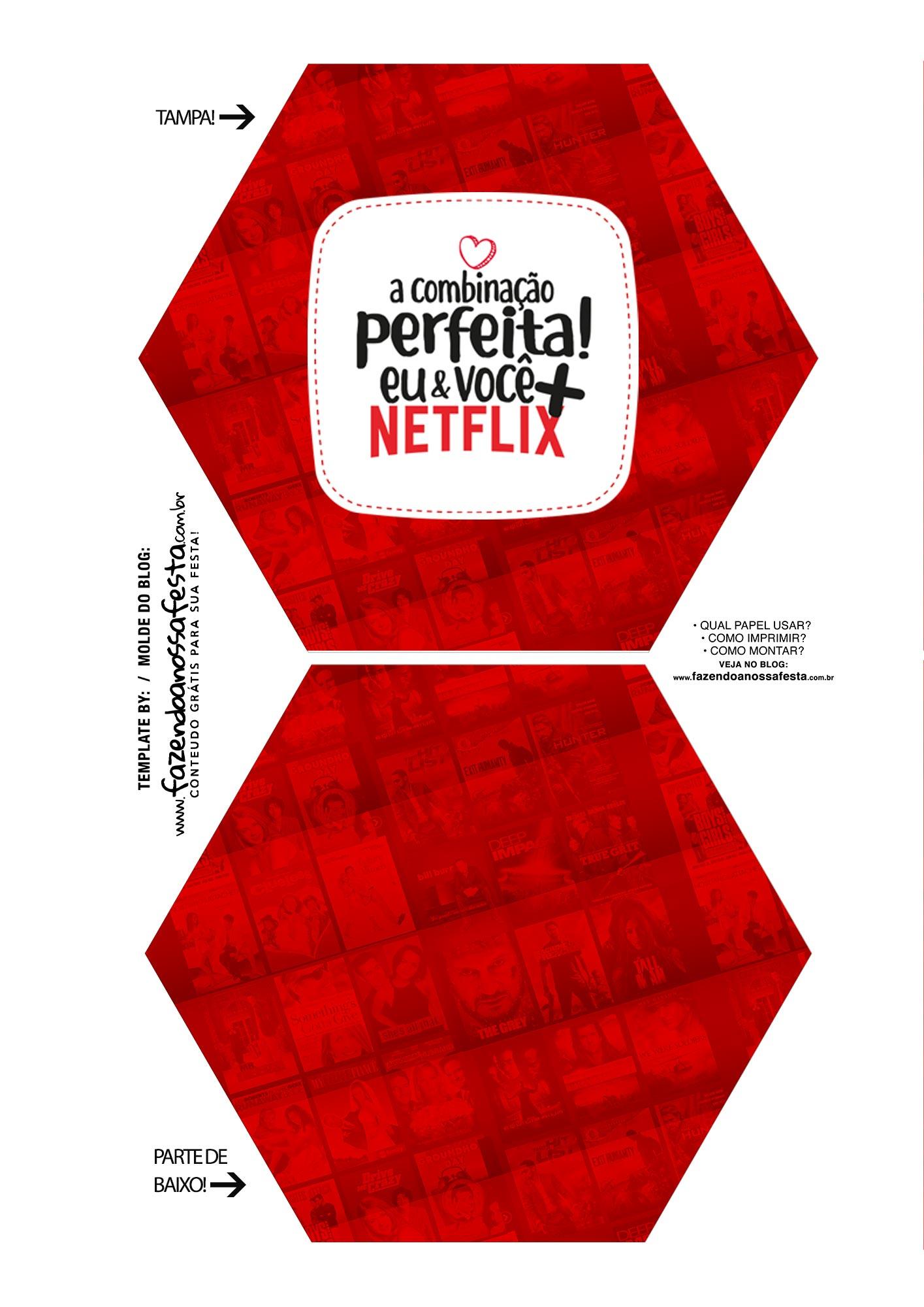 Caixa Explosiva Dia dos Namorados Netflix 1