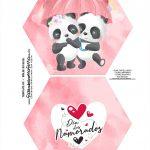 Caixa Explosiva Dia dos Namorados Panda 1