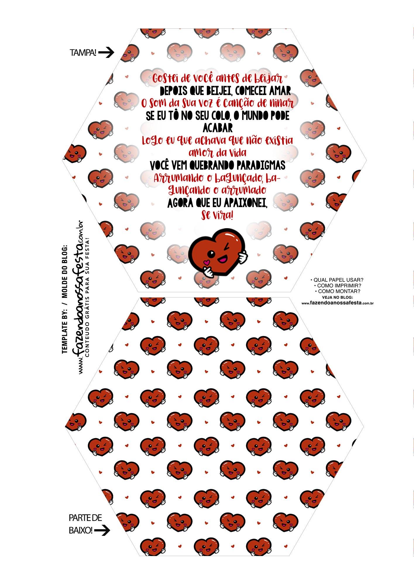 Caixa Explosiva Dia dos Namorados Paradigmas 1