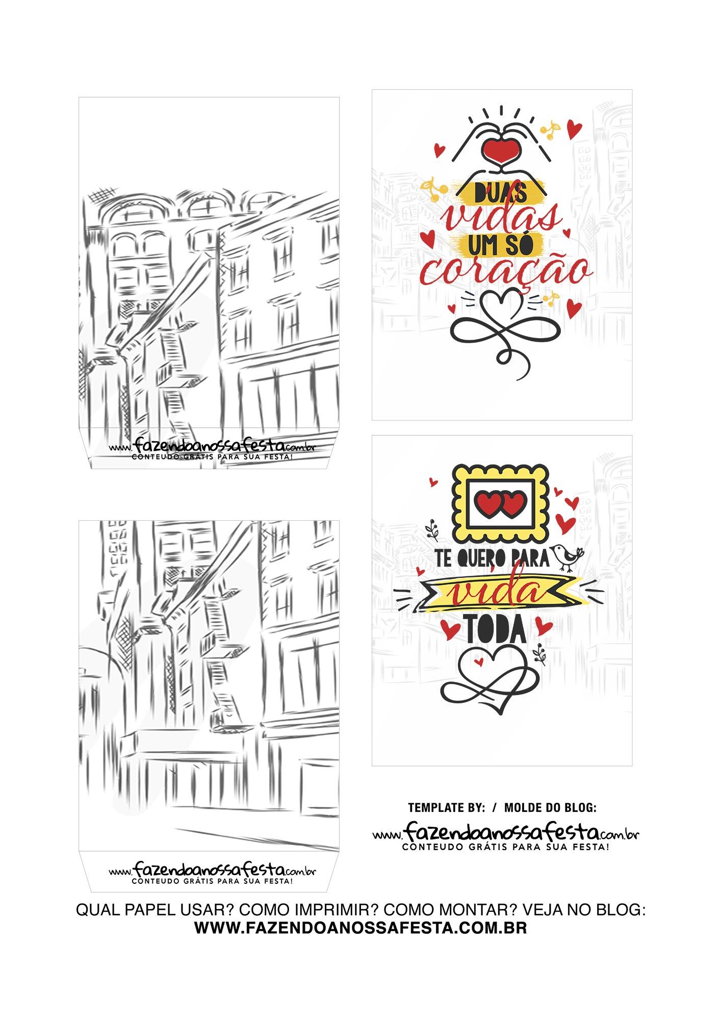 Caixa Explosiva Dia dos Namorados Paris 3