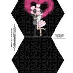 Caixa Explosiva Dia dos Namorados Preto e Pink 1