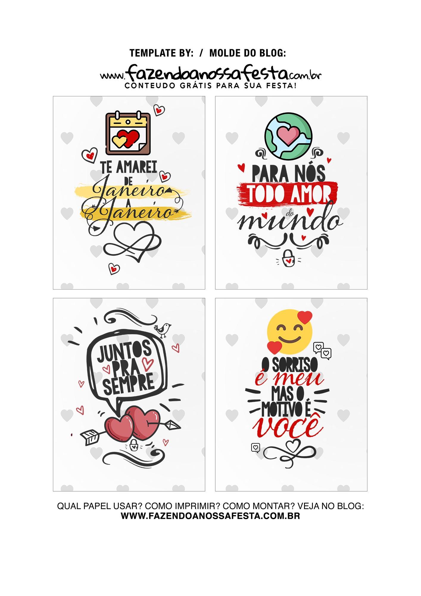 Caixa Explosiva Dia dos Namorados Preto e Pink 5
