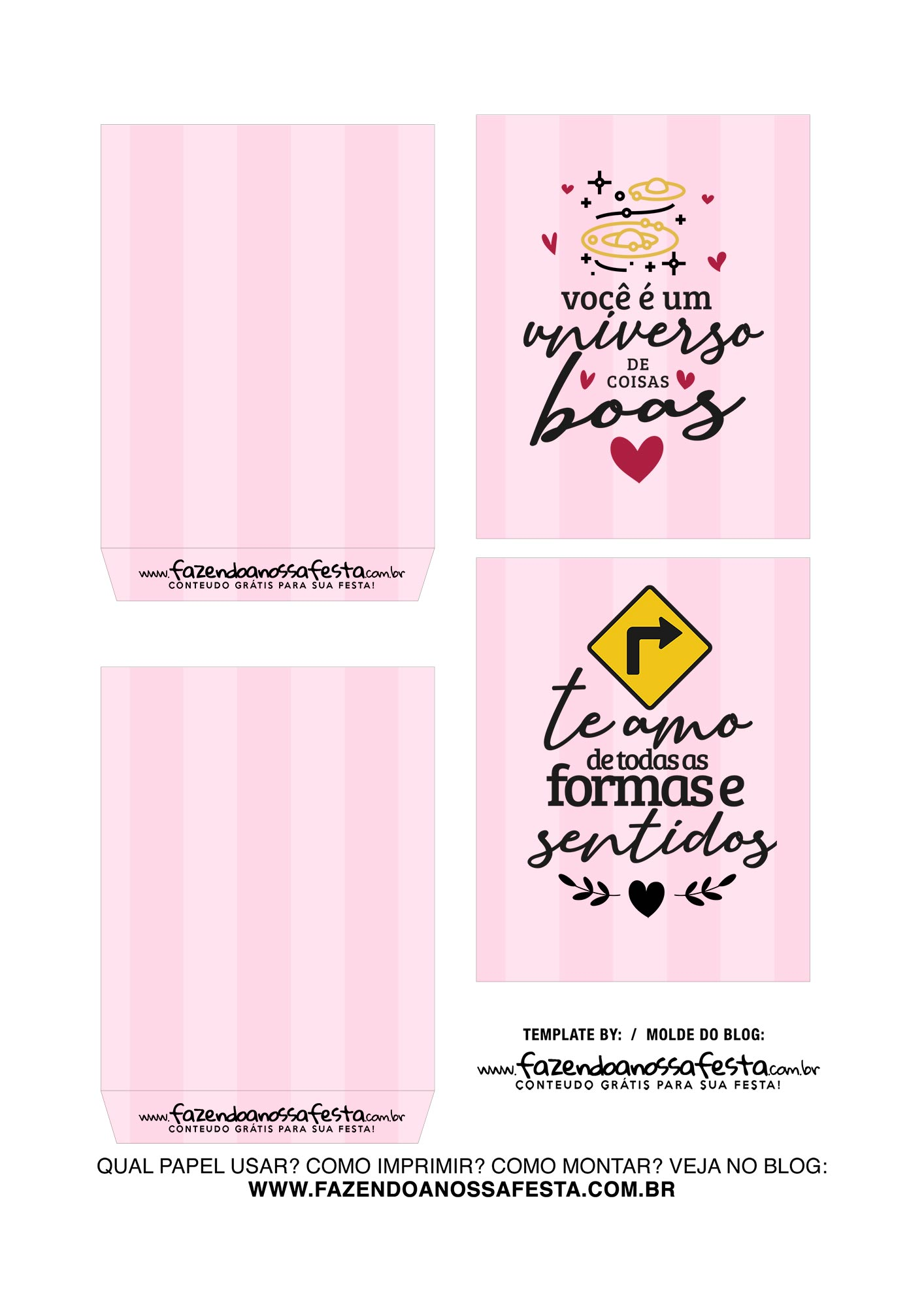 Caixa Explosiva Dia dos Namorados Rosa Coracoes 3