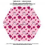 Caixa Explosiva Dia dos Namorados Rosa Coracoes 6