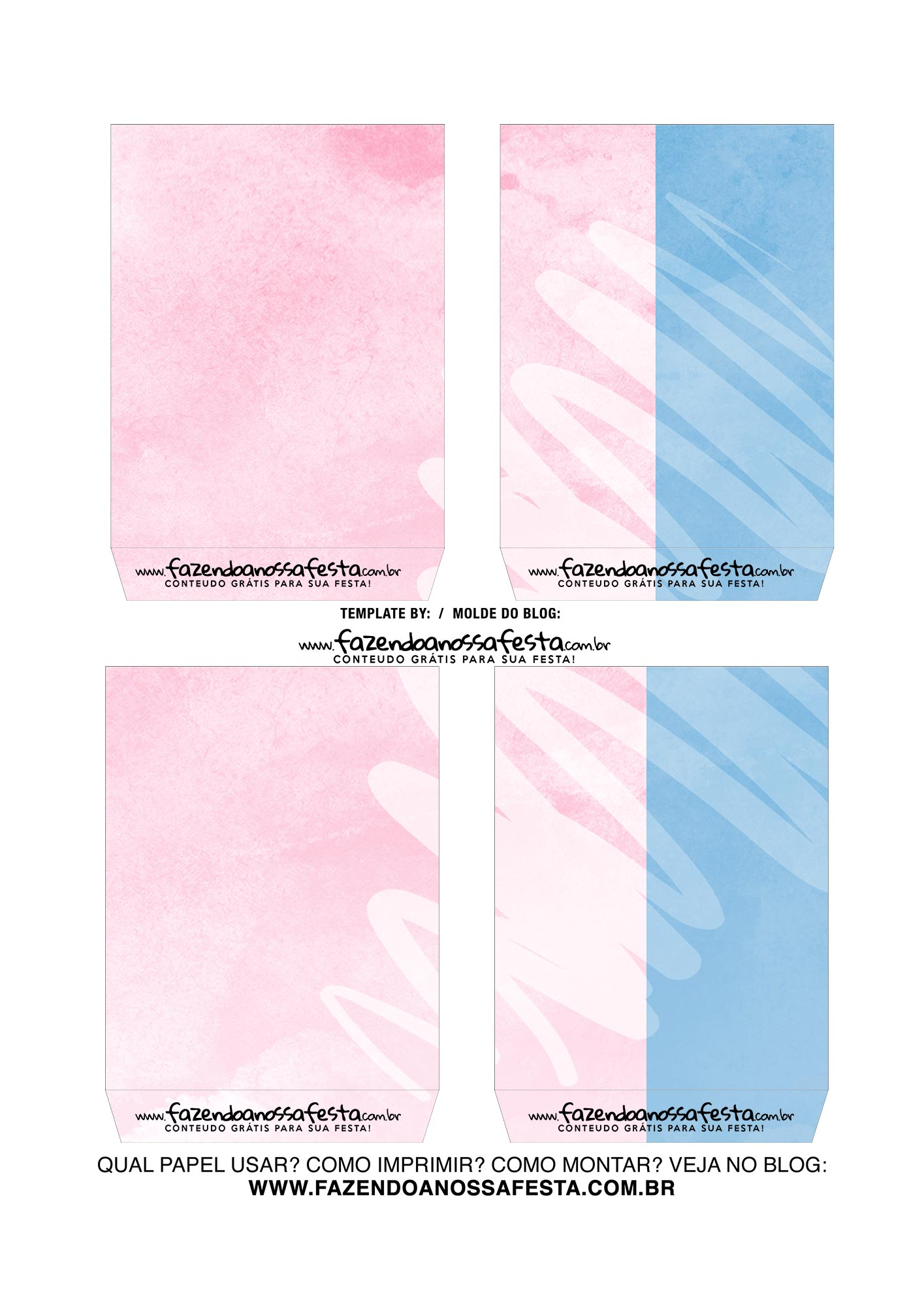 Caixa Explosiva Dia dos Namorados Rosa e Azul 4