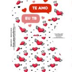 Caixa Explosiva Dia dos Namorados Te amo 1