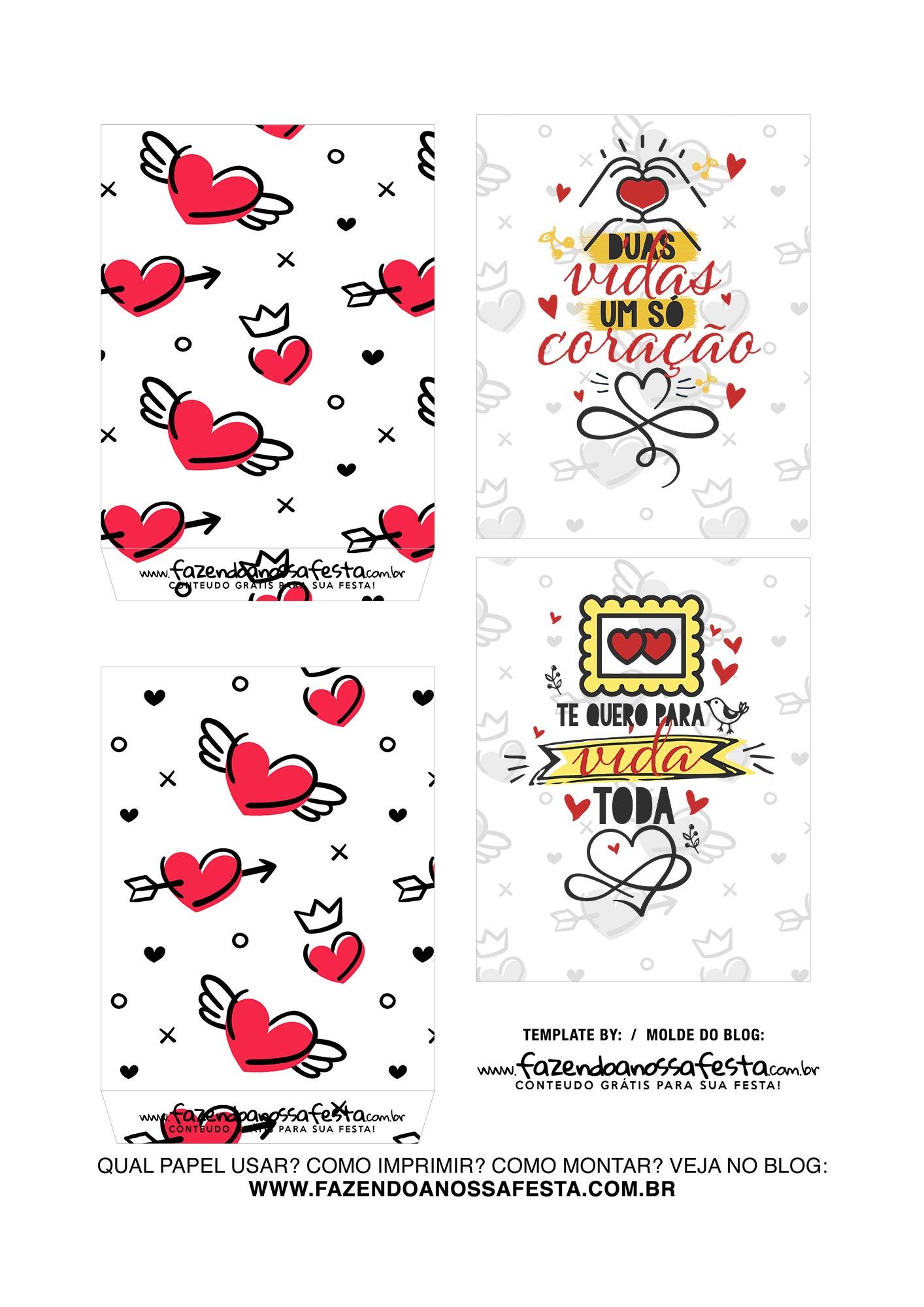 Caixa Explosiva Dia dos Namorados Te amo 3