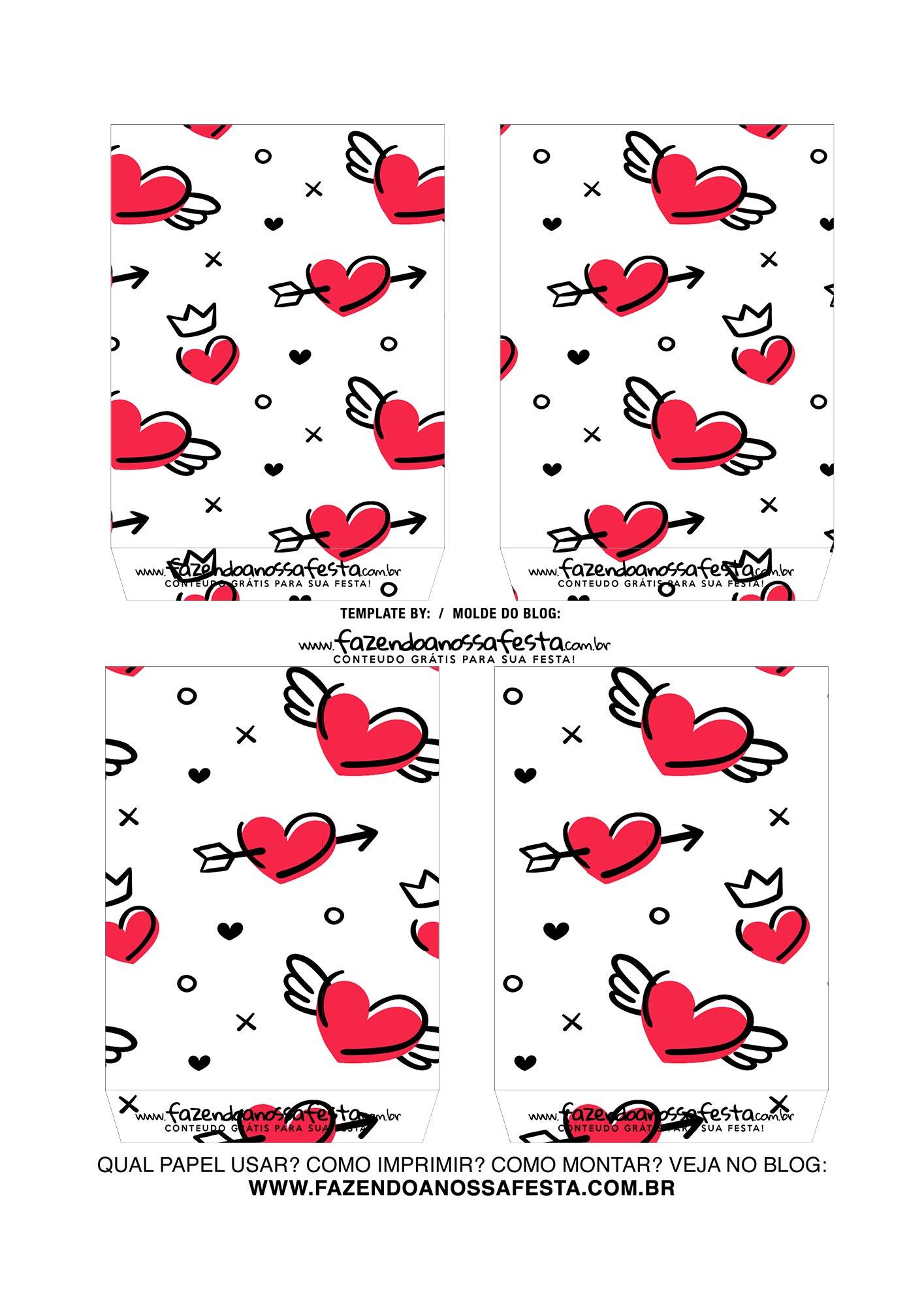 Caixa Explosiva Dia dos Namorados Te amo 4
