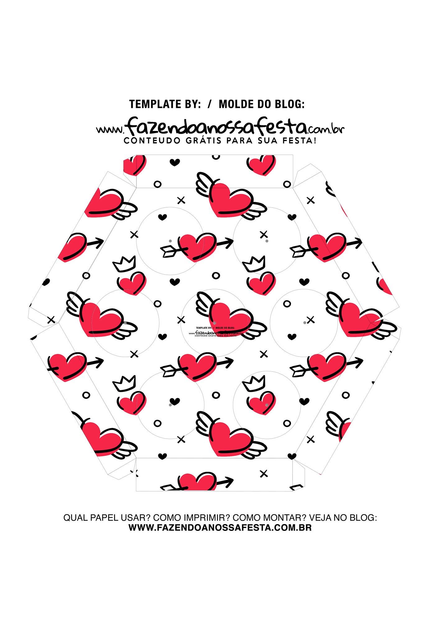 Caixa Explosiva Dia dos Namorados Te amo 6