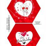 Caixa Explosiva Dia dos Namorados Vermelha 1