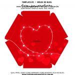 Caixa Explosiva Dia dos Namorados Vermelha 6