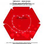 Caixa Explosiva Dia dos Namorados Vermelha 7