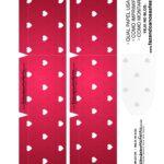 Caixa Explosiva Dia dos Namorados Vermelho Coracoes 2