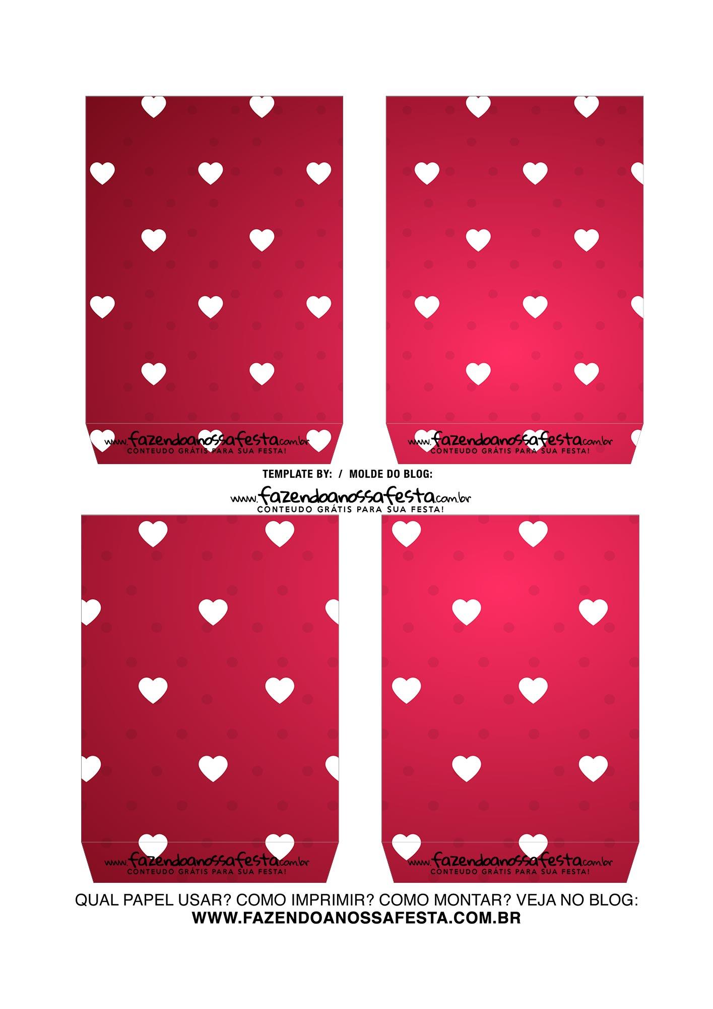 Caixa Explosiva Dia dos Namorados Vermelho Coracoes 4