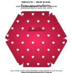 Caixa Explosiva Dia dos Namorados Vermelho Coracoes 7