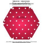 Caixa Explosiva Dia dos Namorados Vermelho Coracoes 8