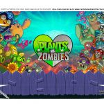 Caixa Joystick Dia dos Namorados Plants vs Zombies tampa 2
