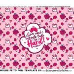Caixa Joystick Dia dos Namorados Rosa fundo