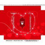 Caixa Joystick Dia dos Namorados Vermelho berco
