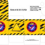 Caixa Kit Colorir Tema Quarentena