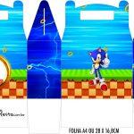 Caixa Maleta Surpresa Sonic