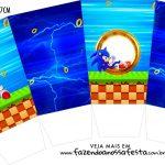 Caixa Pipoca Sonic