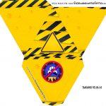 Caixa Piramide Personalizada Tema Quarentena