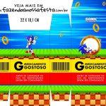 Caixinha de Remedio Personalizada Sonic