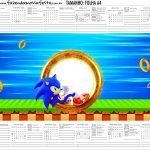 Calendario Personalizado 2020 Sonic