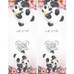 Capa Bloquinho Dia das Maes Panda