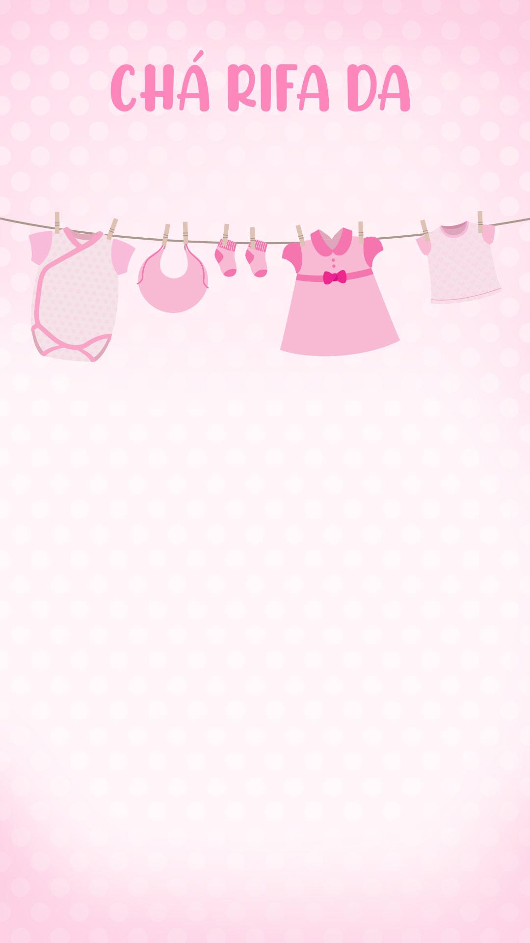 Cartela Rifa bebe menina