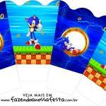Chachepot centro de mesa Sonic