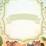 Convite Bosque Encantado Menino 4