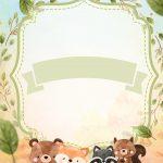 Convite Bosque Encantado Menino 7