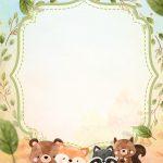 Convite Bosque Encantado Menino 9