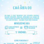 Convite Cha Rifa Chuva de amor menino