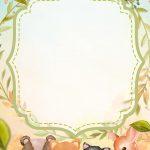 Convite Festa Bosque Encantado verde 2