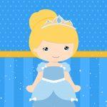 Imagem TV Festa no Rack Cinderella cute