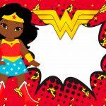 Imagem TV Festa no Rack Mulher Maravilha afro 2