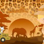 Imagem TV Festa no Rack Safari Menino loiro 2