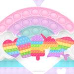 Imagem TV Pop It Candy Color
