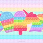 Imagem TV Pop It Candy Color 2