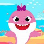 Imagem para TV tema Baby Shark menina 2