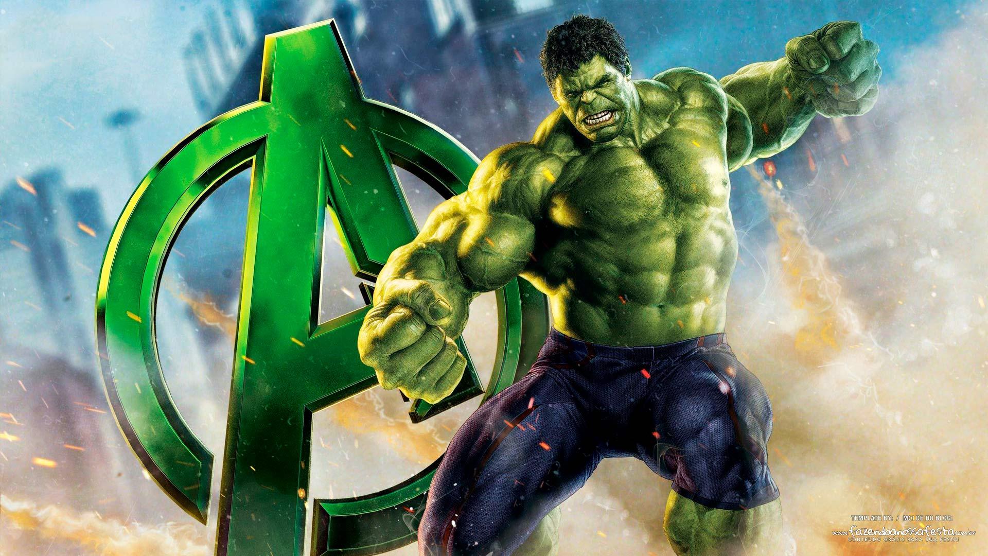 Imagem para TV tema Hulk